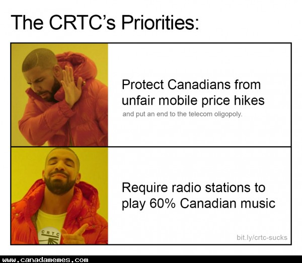 🇨🇦 The CRTC's priorities