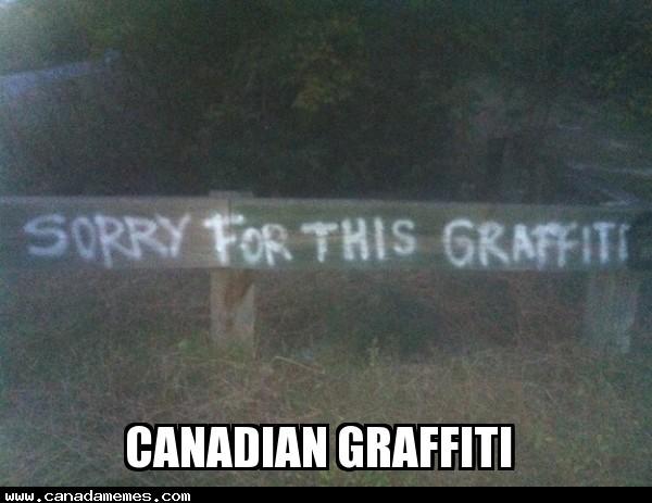 🇨🇦 Canadian Graffiti