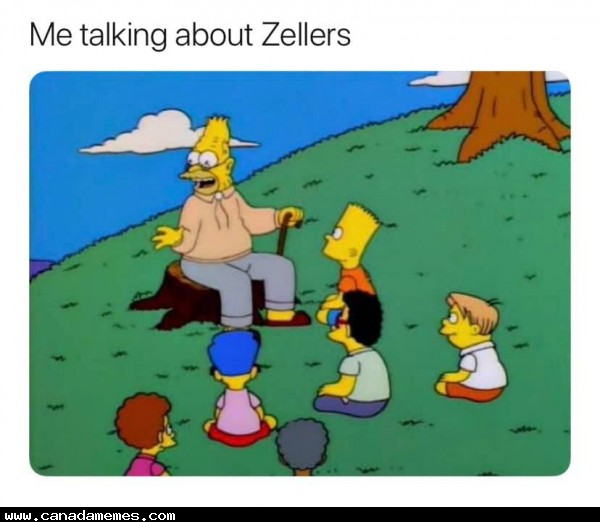 🇨🇦 Back in the old days, we shopped at Zellers