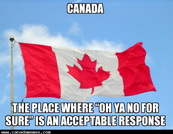 🇨🇦 Oh ya no for sure!