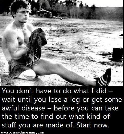 🇨🇦 Terry Fox - A Canadian Hero
