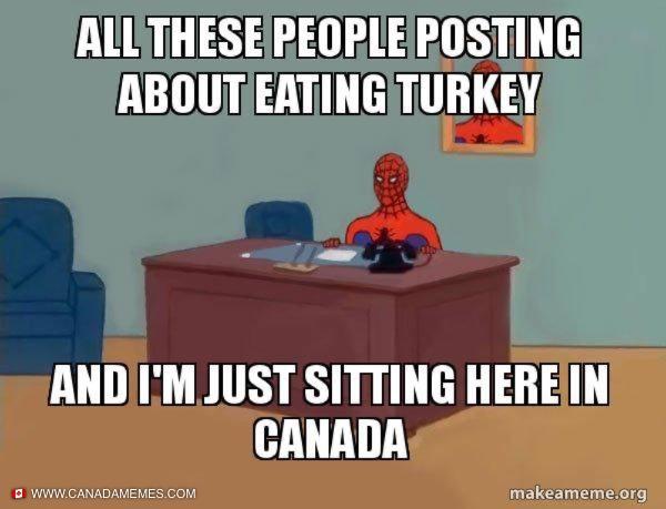 I'm getting turkey envy