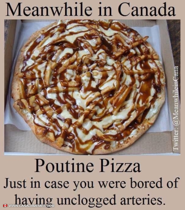 Poutine Pizza! I need this in my life!