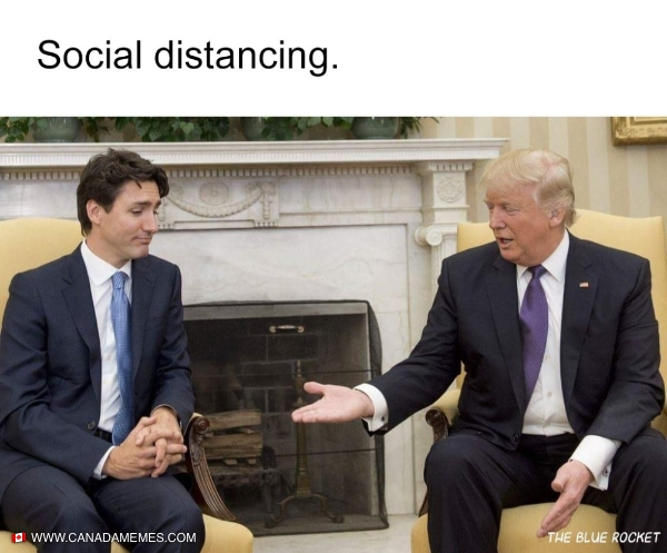 Social distancing!