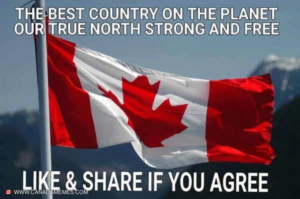 Our true north strong and free!