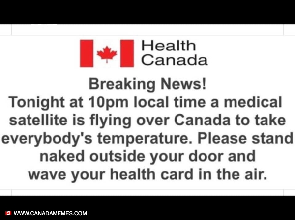 Attention Canada!