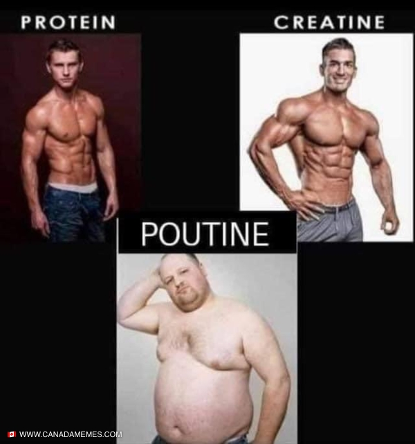 When poutine is life