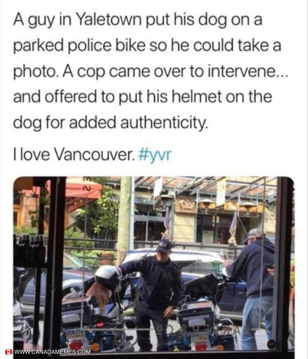 Meanwhile in Vancouver...
