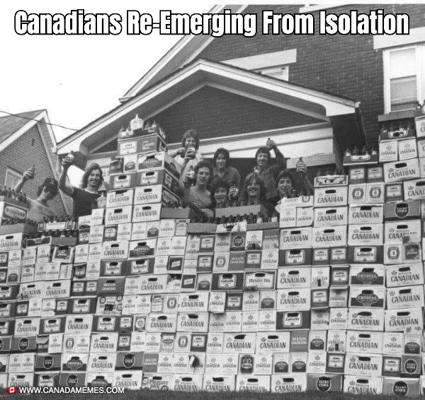 Canadians Re-Emerging From Isolation