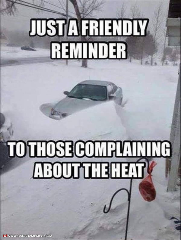 Never complain about the heat when we have this coming soon!