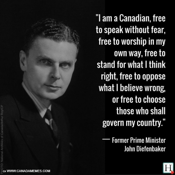 I am a Canadian!