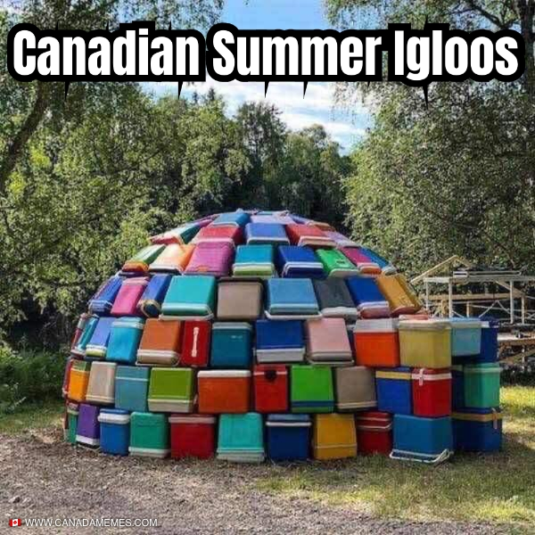Canadian Summer Igloos
