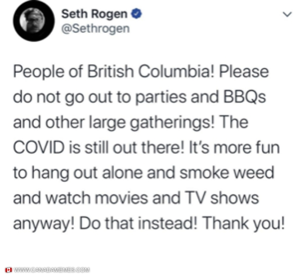 Some great advice from Seth Rogen