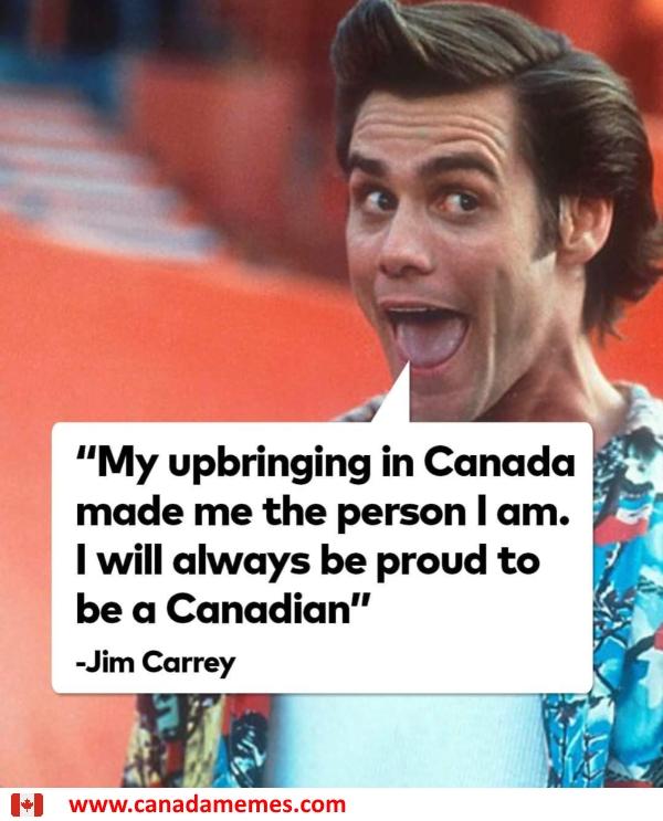 Jim Carrey. A Canadian Legend.