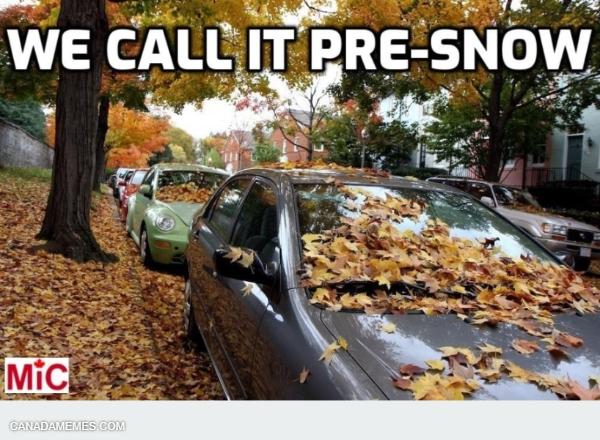 Pre-Snow in Canada