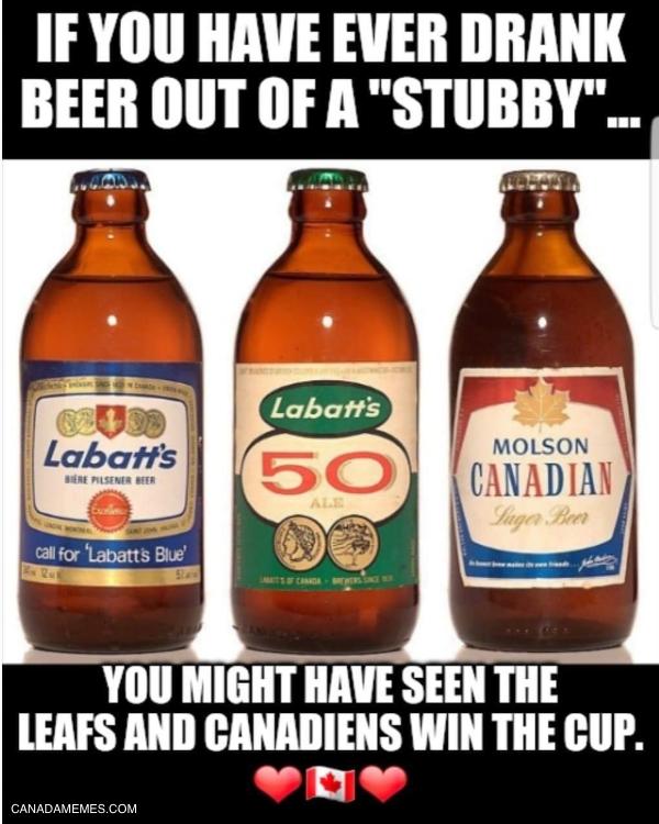 I miss the old stubby bottles!