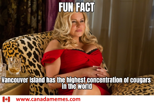 Fun Fact: Vancouver Island has the highest concentration of cougars in the world