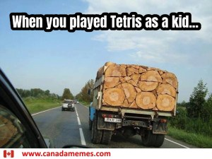 When you played Tetris as a kid...