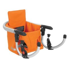 Portable Baby High Chair Hook On Wood And Leather Office Joovy Table Seat In Orangie Chairs Canada S Store