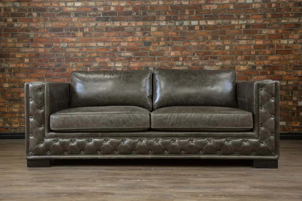 The 3 types of leather differ in how they are processed, which affects appearance, durability, and cost. IL Lusso Leather Sofa | Canada's Boss Leather Sofas and ...