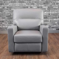 Blue Leather Sofa Canada Grey Black Table The Venus Recliner Collection 39s Boss