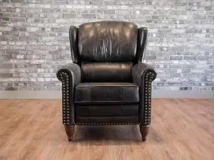 leather wingback chairs canada comfortable office for gaming s boss sofas and furniture the jameson recliner chair