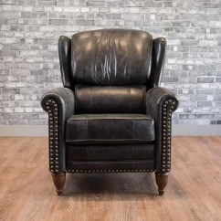 All Leather Recliner Chairs Club Chair With Wheels The Jameson Wingback Canada 39s