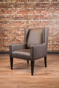 Square accent chair | Canada's Boss Leather Sofas and ...