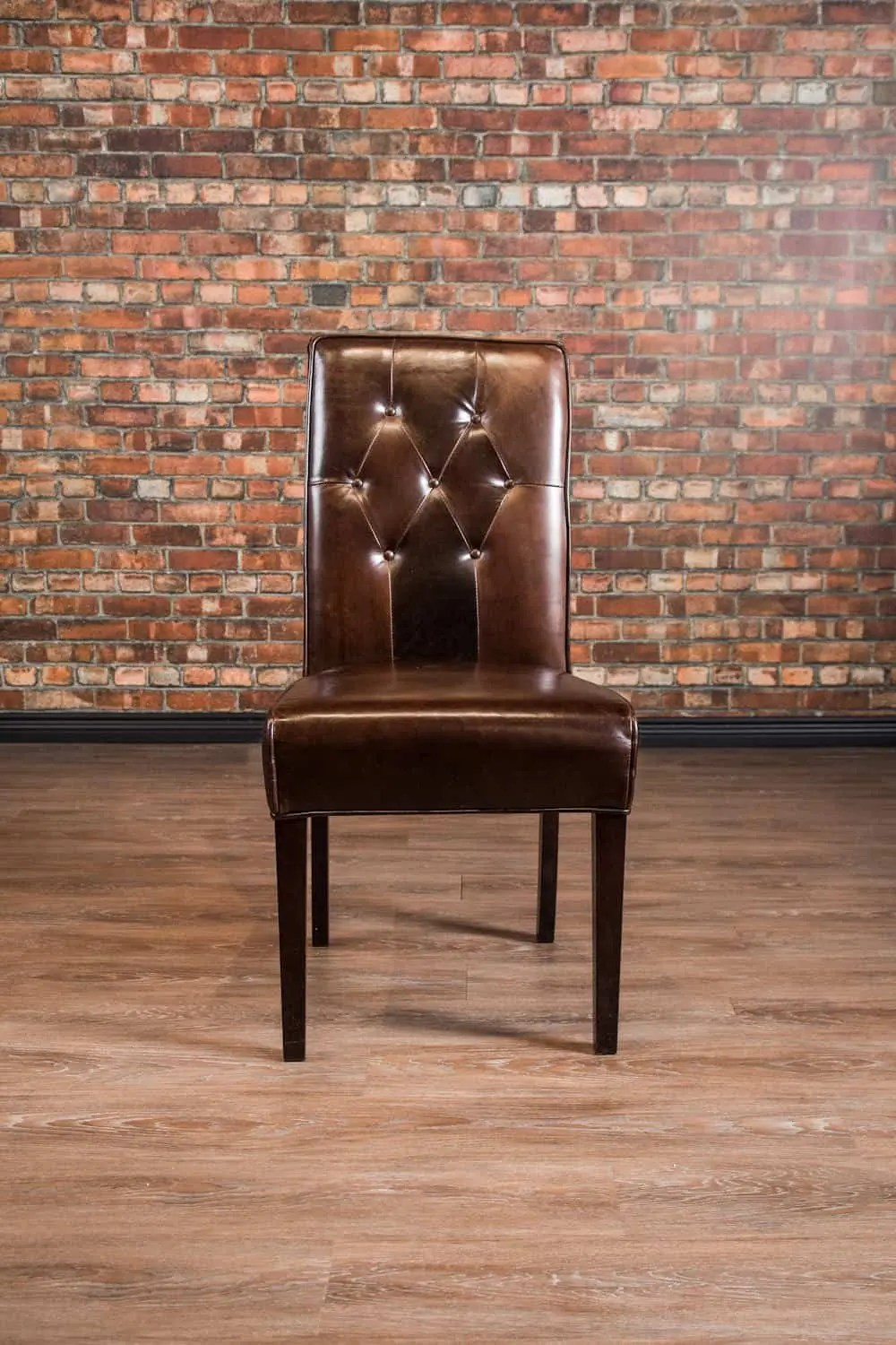 Tufted Dining Chair  Canadas Boss Leather Sofas and