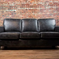 Leather Sofas Chicago Area Brown Sofa With Blue Pillows The Canada 39s Boss And