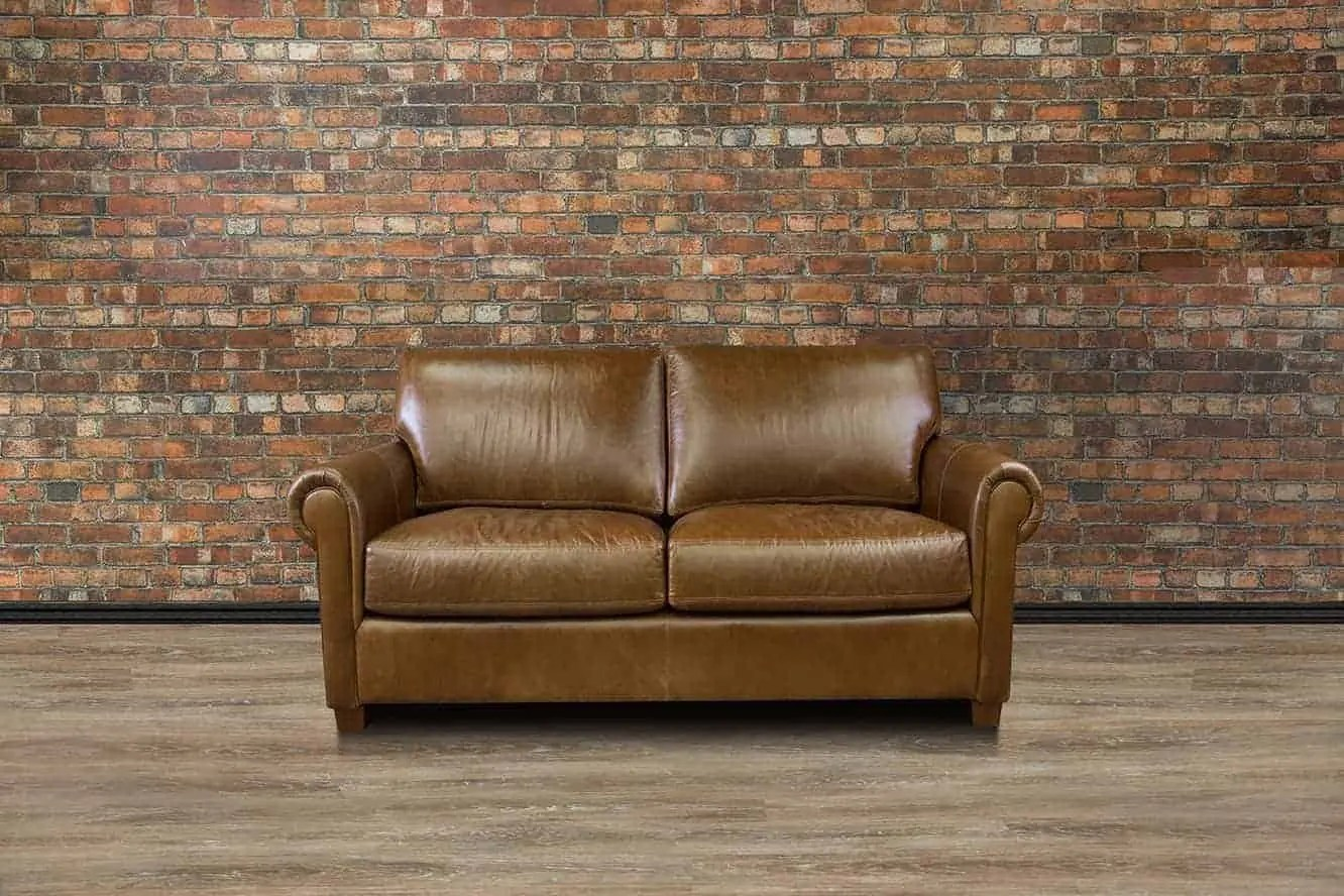 112 lancaster leather sofa american upholstery sleeper collection loveseat deep seat