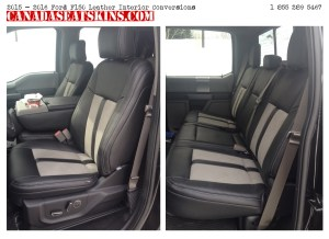 2015  2018 Ford F150 Custom Leather Upholstery