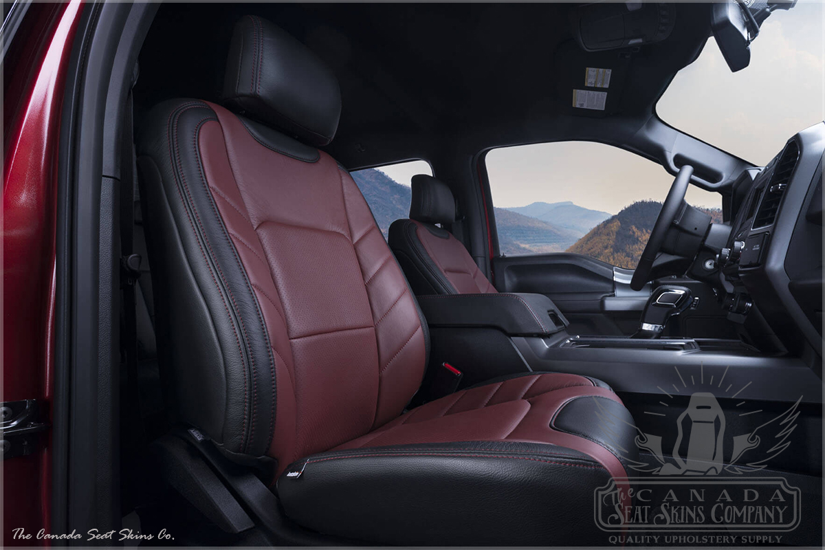 accent chair gray dark brown leather dining chairs 2015 - 2019 ford f150 limited edition katzkin seats