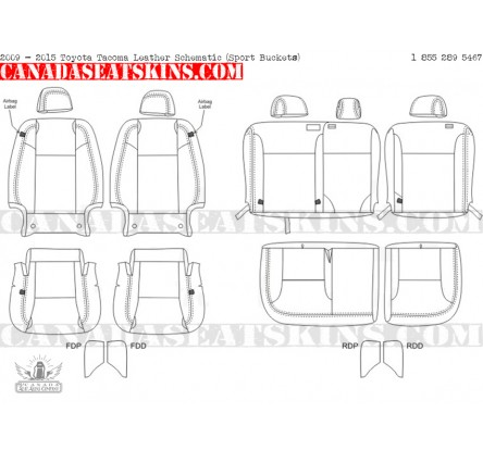 Toyota Tacoma Custom Leather Upholstery