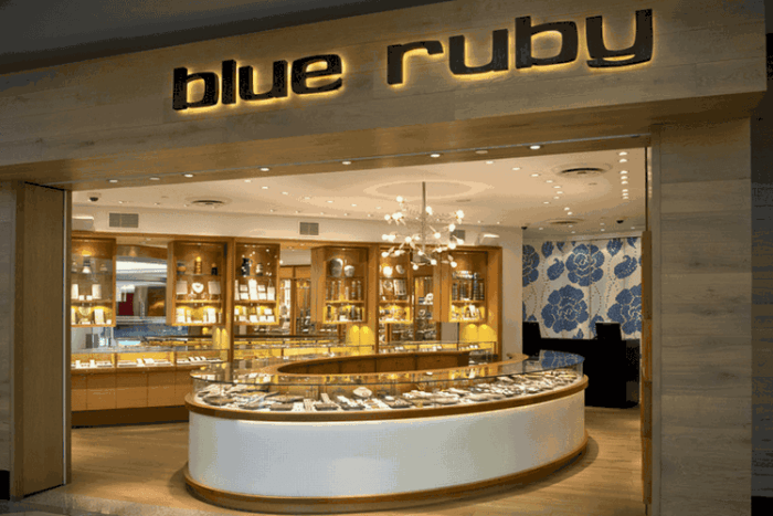 Blue Ruby Jewelry store in Vancouver