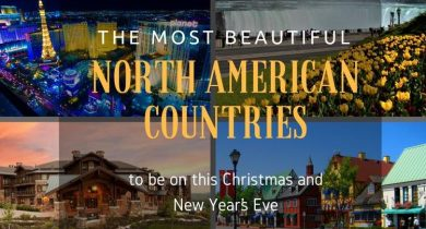 North American Countries to be on this Christmas and New Year's Eve