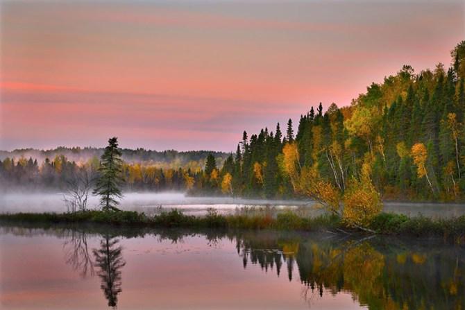 Autumn Landscape, Canada
