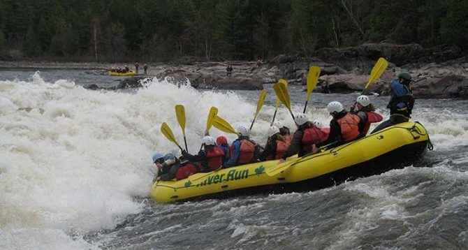 Whitewater Rafting Ottawa