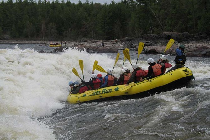 Whitewater Rafting Ottawa