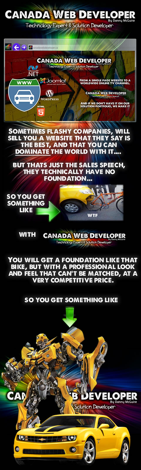 How to Select a Web Design Company by Canada Web Developer