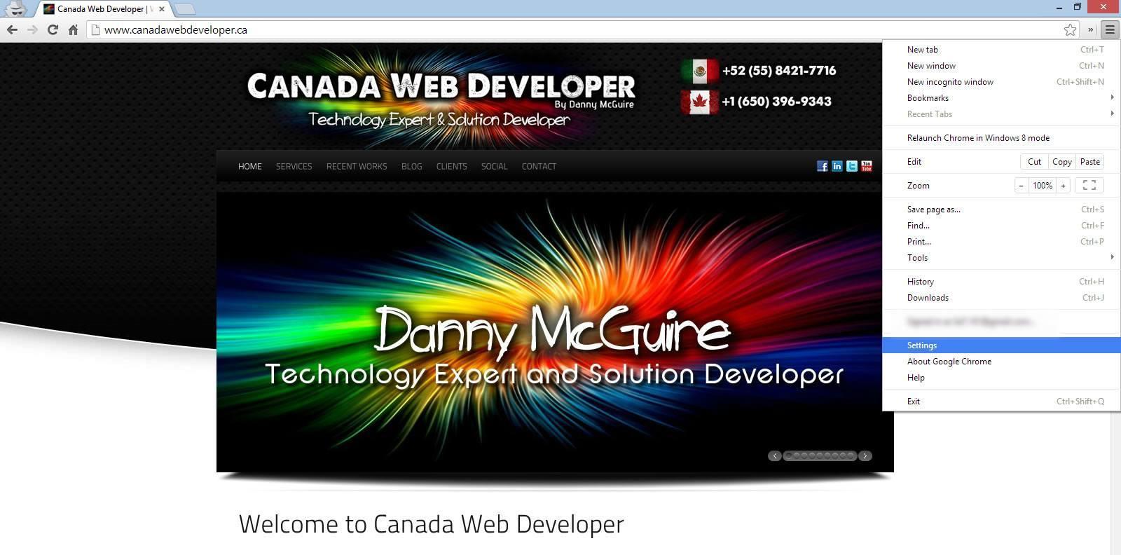Cookies And Cache In Google Chrome Dell Inspiron 1525 Windows� Vista Screen  Shot Googlechromesettings02 2