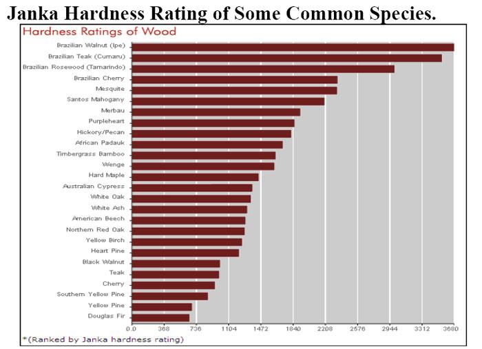 Hardness Wood Floors Species