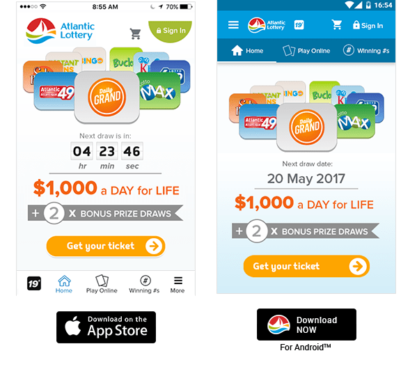 Atlantic Tag- Know your Lottery results instanly