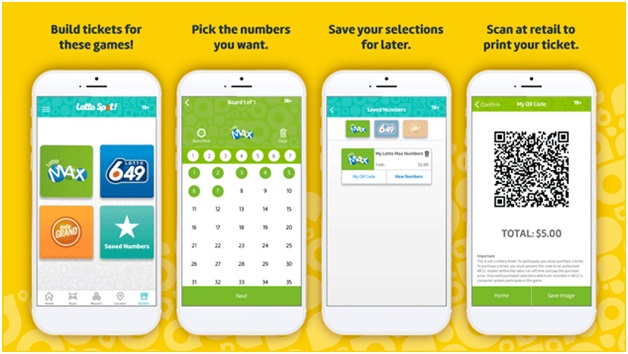 Build A Lotto Ticket feature