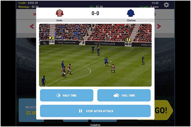 How to play Virtual Sports Games at Play Now Canada- Soccers go