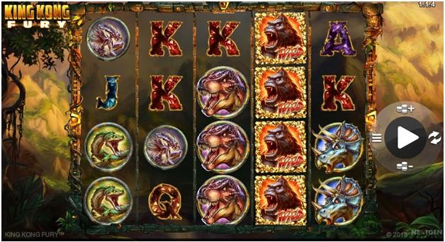 King Kong Fury Game Symbols