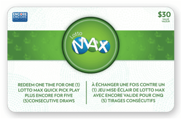 Lotto Max Gift card