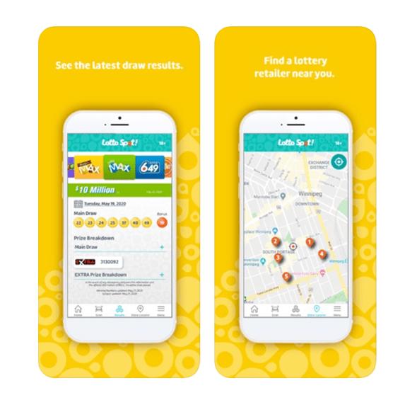 Lotto Spot app