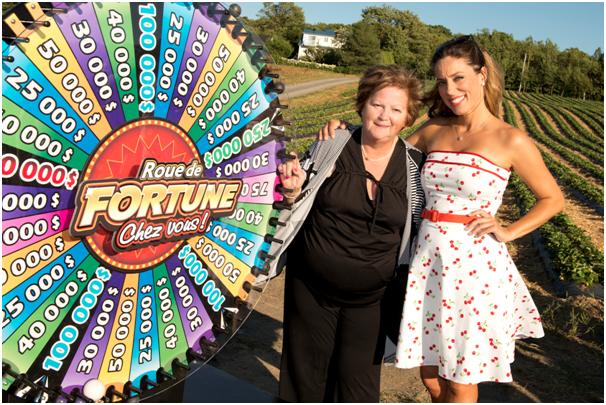 The new Canadian Lottery Roue de fortune chez vous