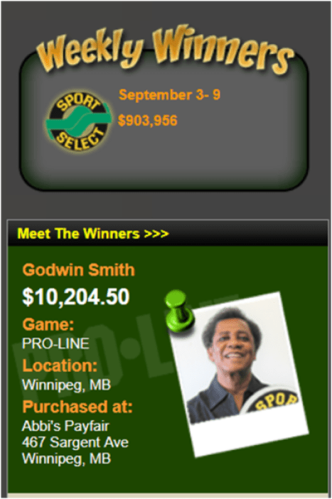 How to claim prize winning sports lottery games in Canada